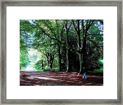 Framed Print featuring the photograph At Peace With Nature by Charlie Brock