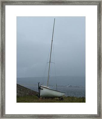 Framed Print featuring the photograph At Rest At Meikle Ferry Scotland by Sally Ross