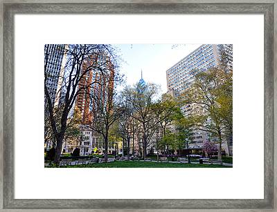 At Rittenhouse Square Framed Print