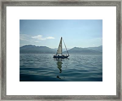 At Sea Framed Print by Kathy Bucari