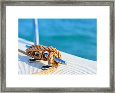 At Sea Framed Print by Laura Fasulo