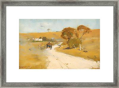 At Templestowe Framed Print by Mountain Dreams