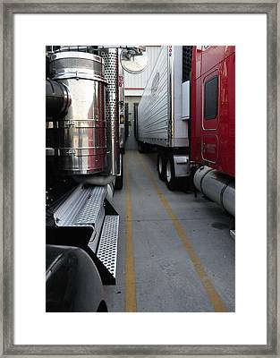At The Bay 34574 Framed Print