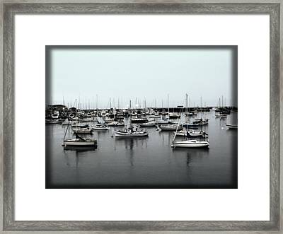 At The Bay  Framed Print by Sherry Flaker