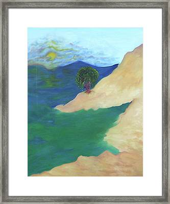 At The Beach Framed Print by Corina Bishop
