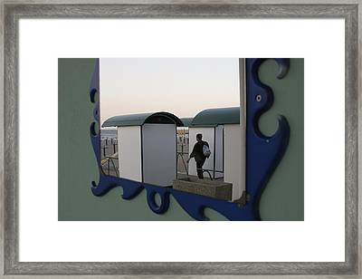 At The Beach Framed Print by Ulrich Kunst And Bettina Scheidulin