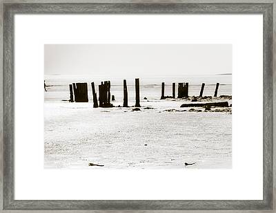 At The Beach Framed Print by Kai Bergmann