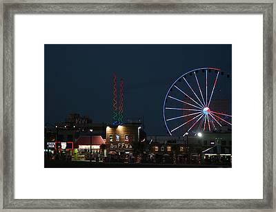 Framed Print featuring the photograph At The Beach by Steve Godleski