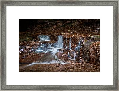 At The Bottom Of Honey Run Framed Print
