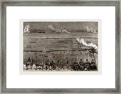 At The Camp Of Exercise, Delhi, India, 1886 Final Assault Framed Print by Litz Collection