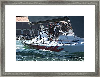 At The Club Framed Print