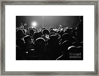 At The Concert Framed Print by Lynda Dawson-Youngclaus