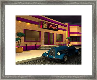 At The Copa Framed Print by John Pangia