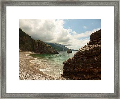 At The Cove Framed Print