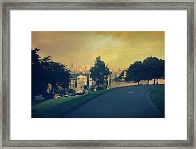 At The Curve Framed Print by Laurie Search