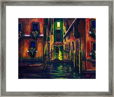 At The Cusp Of Permanent Liminality  Framed Print by Kevin Richard