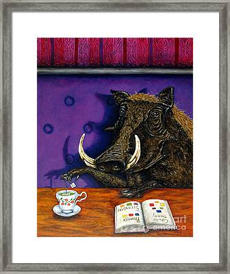 At The Diner Framed Print by Jay  Schmetz