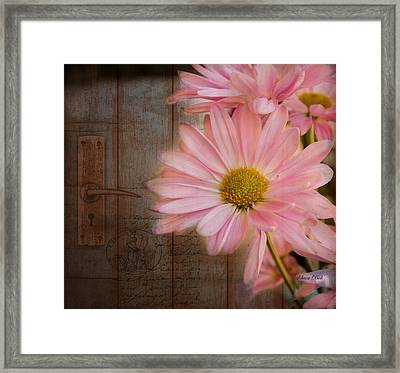 At The Door Framed Print by Bellesouth Studio