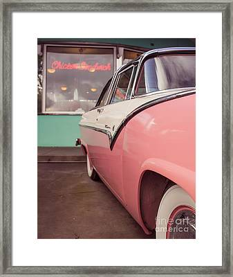 At The Drive In 11x14 Standard  Framed Print by Edward Fielding