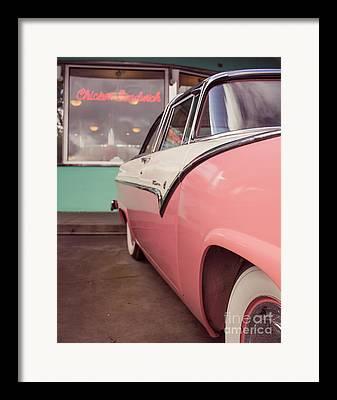 Mels Drive-in Framed Prints