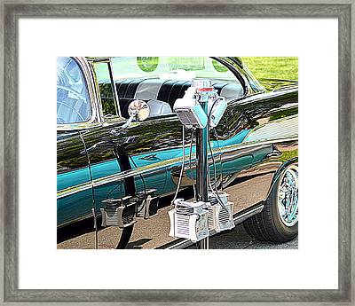At The Drive In Framed Print by AJ  Schibig