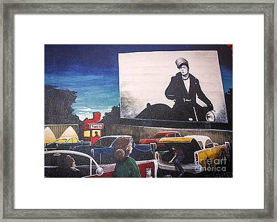 At The Drive In Framed Print by Janice Rae Pariza