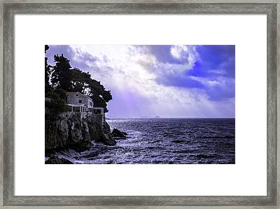 At The Edge Of Time Framed Print