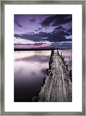 At The End Framed Print by Jorge Maia