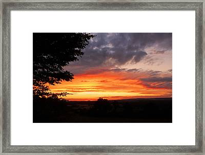 At The End Of The Day ... Framed Print by Juergen Weiss