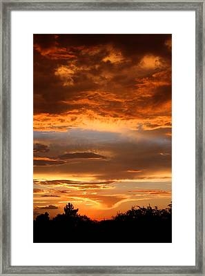 At The End Of The Day Framed Print by Joe Kozlowski