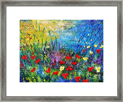 At The End Of The Day Framed Print by Teresa Wegrzyn