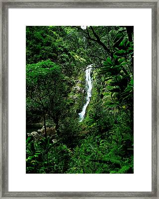 At The End Of The Valley Framed Print by James Temple