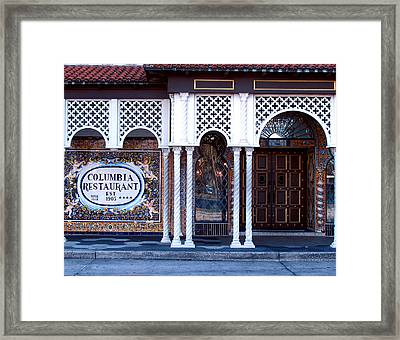 At The Entrance Framed Print
