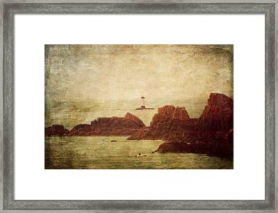 At The Entrance Of The Mont Saint-michel Bay Framed Print by Loriental Photography