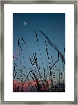 At The Fall Of Night Framed Print by K Hines