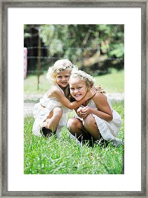 At The Farm Framed Print by Chastity Hoff