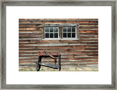 At The Farmers Market 2 Framed Print by Mary Bedy