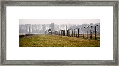At The Fence Framed Print by Jen Morrison