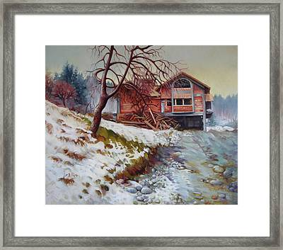 At The Forest Edge Framed Print by Elena Oleniuc
