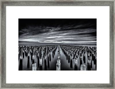At The Front Framed Print