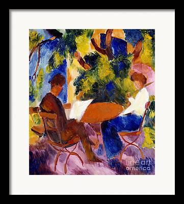 Macke Framed Prints