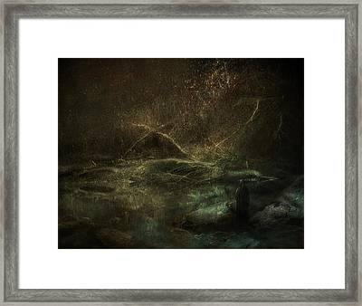 At The Gate Framed Print by Akos Kozari
