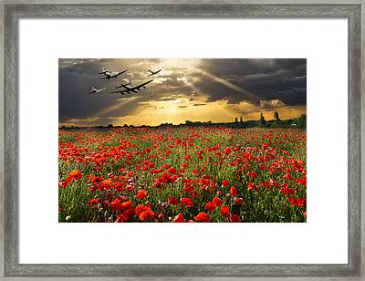At The Going Down Of The Sun Framed Print by Gary Eason