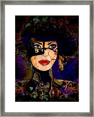 At The Masquerade Framed Print by Natalie Holland