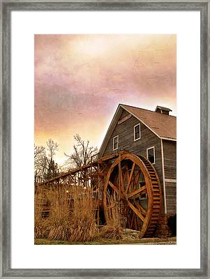At The Mill Framed Print