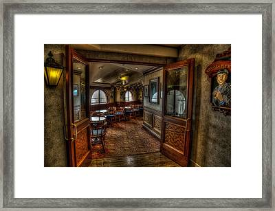 At The Pearly Kings Inn Framed Print by John Hoey