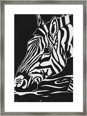 At The River Framed Print by Chelsea Blair
