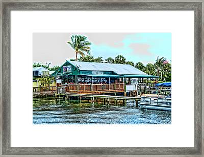 At The Riverside On Mothers Day 2112 Framed Print by Frank Feliciano