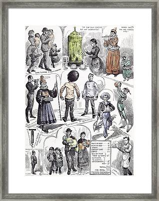 At The Royal Victoria Coffee Hall Waterloo Road South Framed Print