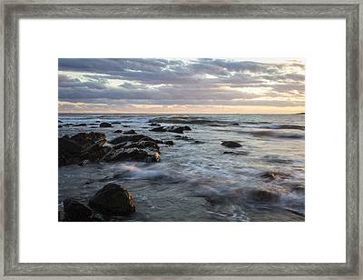 At The Water's Edge Framed Print by Andrew Pacheco